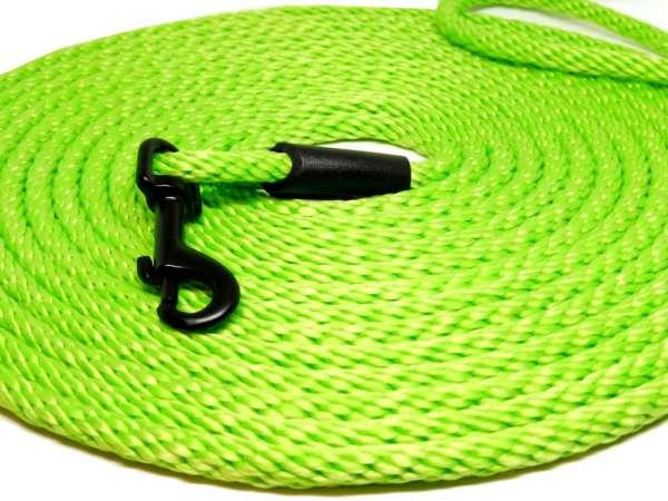 Kwalitatief hoogwaardige groen neon kattenriem van 5 en 10 meter lang