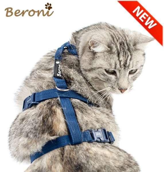 Beste Kattentuigje verstelbaar Safety Harness Classic blauw