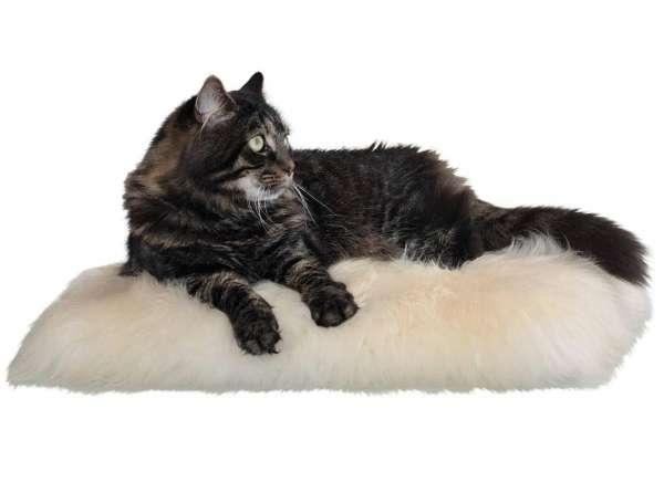 Kattenkussen ECHT Schapenvacht 45 x 45