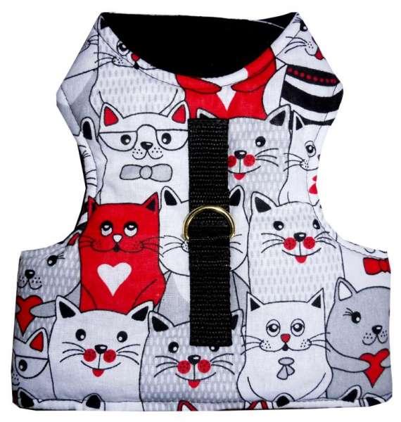 Kattenharnas veilig kattentuigje vest luxe NO ESCAPE